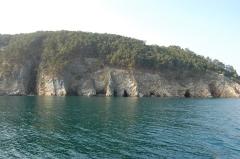 Grottes marines à Morgat